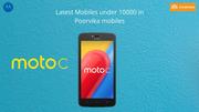 Latest mobiles under 10000 in poorvikamobiles - Moto C