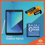Samsung Galaxy Tab S3 is available with Bajaj Offers on Poorvika