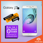 Samsung Galaxy J7 independence day offers at poorvika mobiles