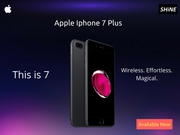 Apple Iphone 7 128GB Plus Special offers on SHINE Poorvika