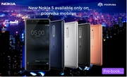 The Brand New Nokia 5 now opening pre-book on poorvika mobile