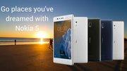 New Nokia 5 Price in India only on poorvikamobiles