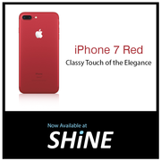 Apple iPhone 7 Red special edition on ShinePoorvika