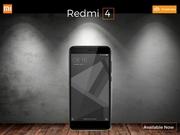 Xiaomi Redmi 4 new budget smartphones on Poorvikamobiles