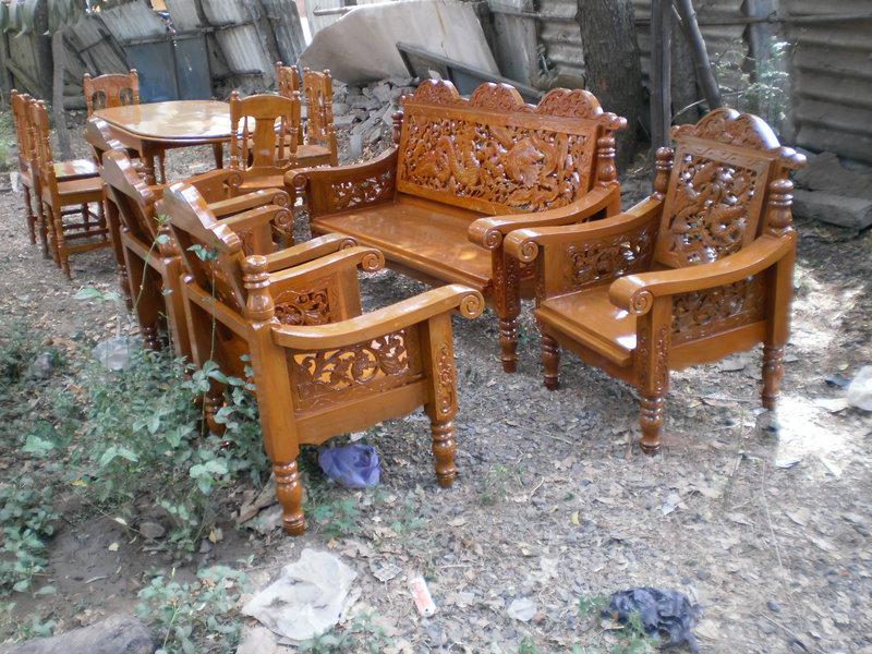 Prime Brand New Original Teak Wood Sofa Cot Dinning Table Mfg Customarchery Wood Chair Design Ideas Customarcherynet