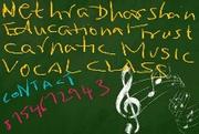 Carnatic Music Vocal online classes