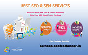 Top SEO Expert Freelancer in Chennai: +91 9842021911