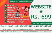 Own your Responsive Website @ just Rs. 699
