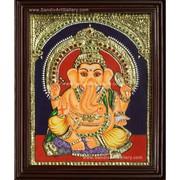 Buy Bala Ganapathy Tanjore Painting Online
