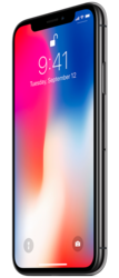 Apple iphone X with cashback offers at Shine poorvika