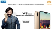 Latest Vivo V9 mobile now available @ Poorvika Mobiles