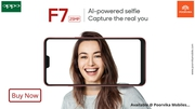 Oppo F7 now available with Best Offers on Poorvika Mobiles