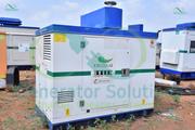 Kirloskar Industrial Generator  15 - KVA   Usage - 1000 hours