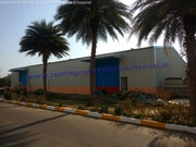 Industrial roofing shed and solution in chennai   Warehouse roofing
