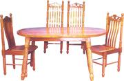 High backend Dining Table