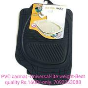 Car Foot mat PVC - Car accessories