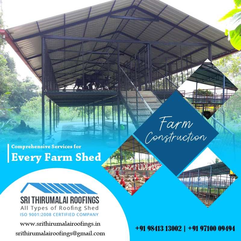 Goat farm constructions in chennai  - Tamil Nadu - Construction