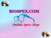 Online Spectacles Shop on bigspex.com