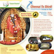 Enjoy Shirdi with Direct flight package from Chennai