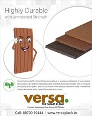 Versa WPC Plank - More Durable & Longer Lasting Than Wood Itself