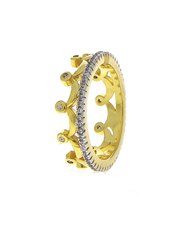 Shop an American Diamond Ring Design at lowest price.