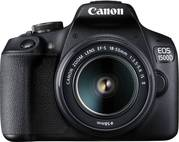 Canon EOS 1500D 24.1MP Digital SLR Camera (Black) with 18-55 and 55-25