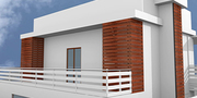 Versa WPC Louvers: Perfect For Apartments Of Any Size