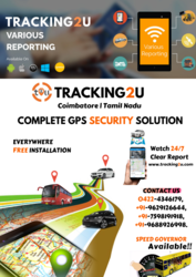 Tracking2u - GPS vehicle tracking system suppliers,  vehicle trackers