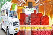 Approach JM Travels for modest priced Tempo traveller hire in chennai