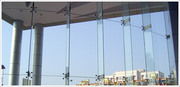 Exterior Glass Work In Chennai,  Spider Fitting Glass Work In Chennai