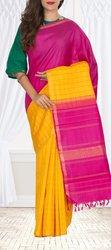 Pure Kanchipuram Handloom Silk Saree - Palam silk