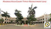 Madras HC Typist Syllabus 2019