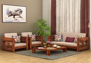 Check out the Classy Collection of Wooden Sofa Design @ Wooden Street