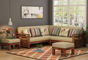 Amazing l shape sofa design @ Wooden Street
