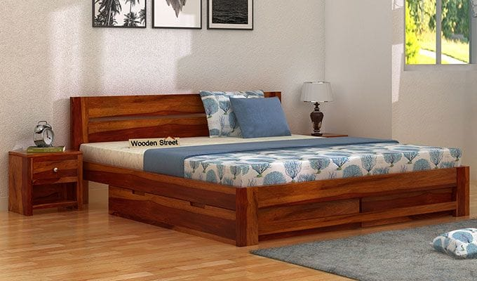 View The Best Bedroom Bed Designs Available At Wooden Street