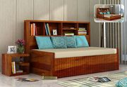 Super Sale!! Buy Sofa Cum Bed in Chennai @ WoodenStreet