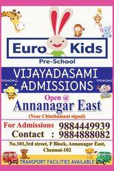 Eurokids Anna nagar East | Daycare in Anna Nagar