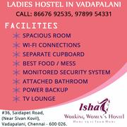 Ladies Hostel In Vadapalani | Hostels In Vadapalani