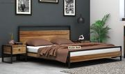 Get king size bed online up to 55% off at Wooden Street