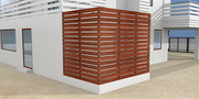 Versa Hollow - Perfect For Louvers,  Railings,  Partitions And More