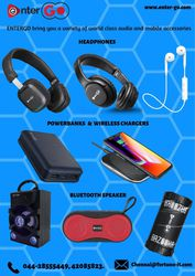 Entergotn Buy Mobile & Audio Accessories | Chargers | Power Bank