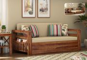 Great Designs on luxury solid wood Sofa Bed Design in India