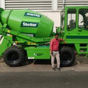 Concrete Mixer _ Self Loading Truck
