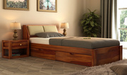 Heavy discount all single beds available at Wooden Street