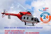 Get Fastest Air Ambulance Service in Chennai by HIFLY ICU