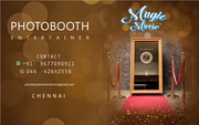Enclosed Photobooth in Chennai -  Photo Booth Entertainer