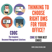 Thinking to choose the right DMS for your office?
