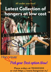 Get latest collection of hangers at low cost