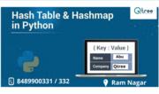 Hashmap Python Training in Coimbatore