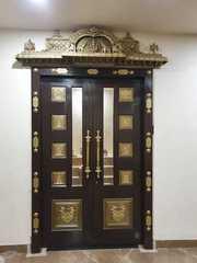 Door for pooja room
